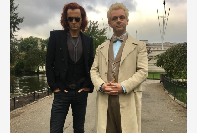 Amazon Prime, al via riprese 'Good Omens' con Sheen e Tennant