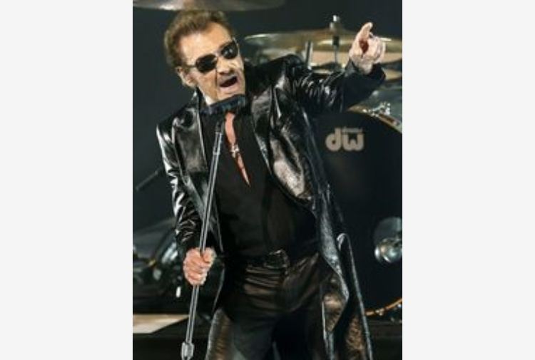 Musica, è morto Johnny Hallyday