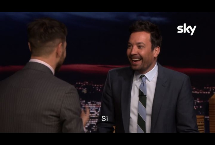 Jimmy Fallon ad Alessandro Cattelan: 'You're the Italian me!'