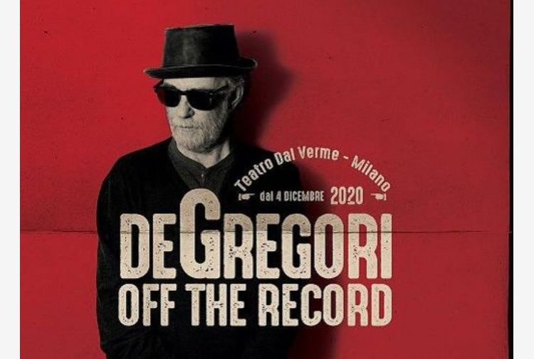 Francesco De Gregori porta 'Off the Record' a dicembre a Milano