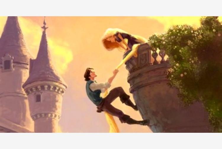 Quot rapunzel l intreccio della torre la disney riscopre
