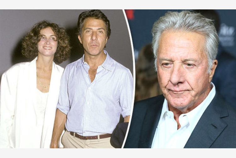 Dustin Hoffman con Anna Graham Hunter