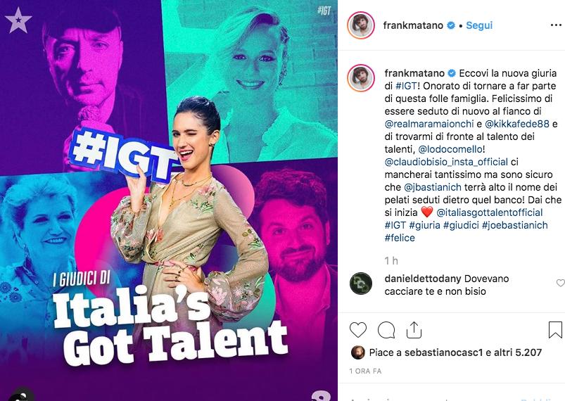 Italia's Got Talent torna a Vicenza con Bastianich quarto giudice