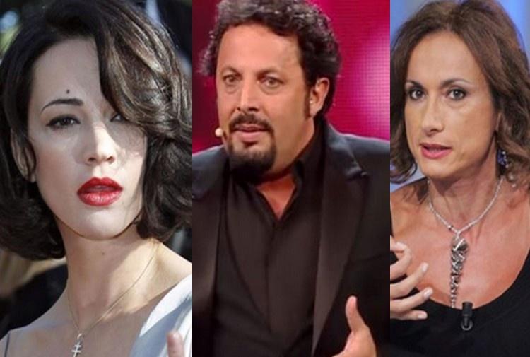 Asia Argento torna in tv, scontro con Luxuria: