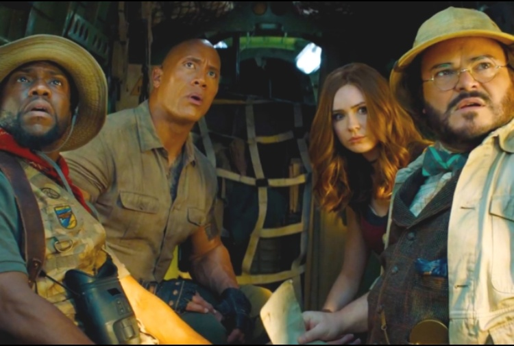 L'avventura incredibile riparte: 'Jumanji - The Nex Level'. La clip del film in anteprima